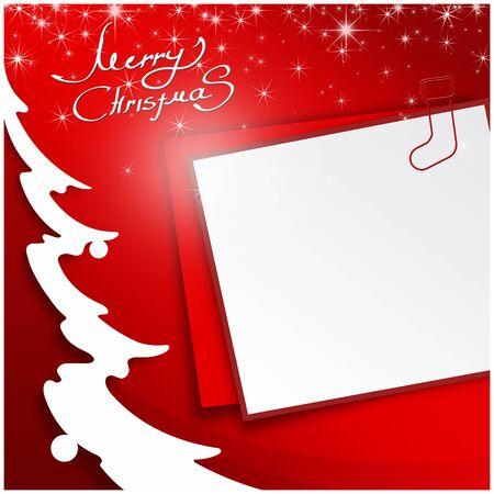 the season: Merry Christmas background, holiday season concept Stock Photo
