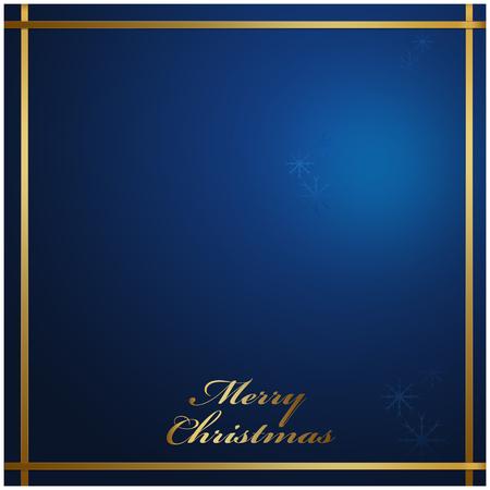 the season: Merry Christmas blue background, holiday season concept Stock Photo