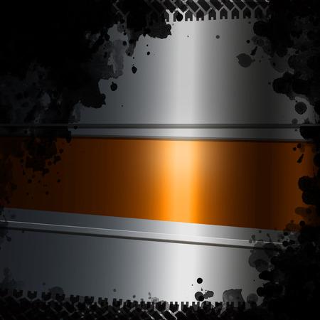 metal grate: Abstract dark metal background. illustration.