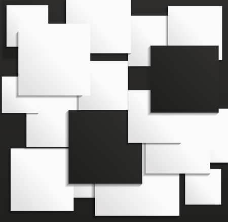 interior decoration: Simple geometric black white texture