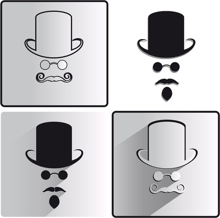 invisible: four variants of the invisible men