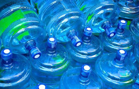 still water: Big plastic bootles of still water