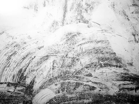 blak and white: Black and white paint textured wall closeup Stock Photo