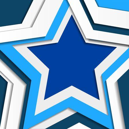 star background: Star vector background. Background blue star.