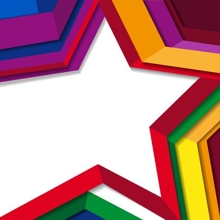 star background: Star vector background. Background colorful star.