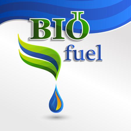 bio fuel: Set  Eco design bio fuel elements, bio icon, natural icon, organic icon