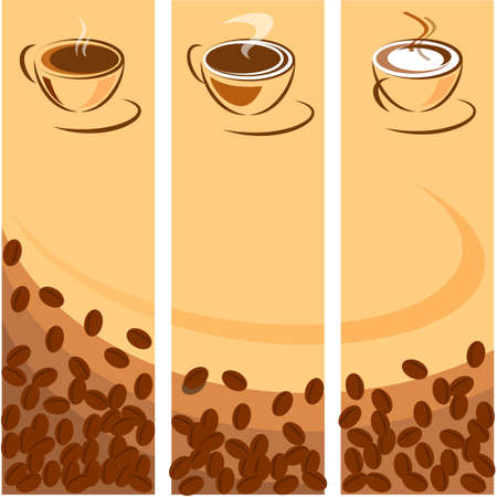 percolator: Coffee cup different icons
