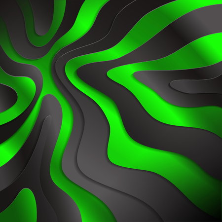 colorful background of abstract waves.