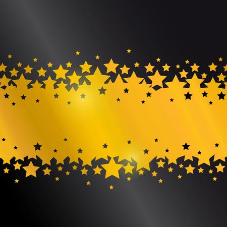 black: star black background design