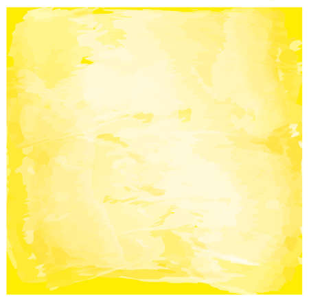 business backgound: Hand drawn Watercolor yellow background Stock Photo