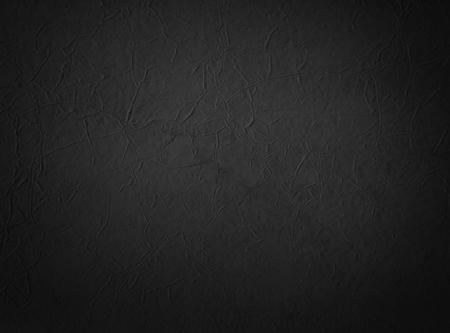 black textured background: Black grunge painted paper, black textured background Stock Photo