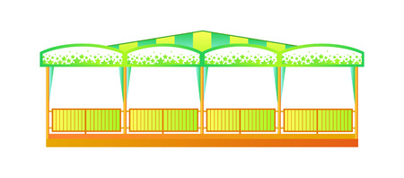 bumper: Childrens amusement park. Bumper Cars. Vector image. Illustration