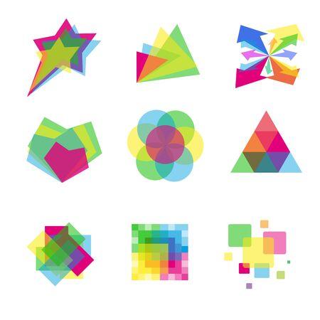 colorful set