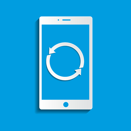 application recycle: Smartphone icon updates, Smartphone icon vector, Smartphone icon web, Smartphone icon flat. Smartphone icon object. Smartphone icon image, Smartphone icon stock, Smartphone icon illustration. Smartphone