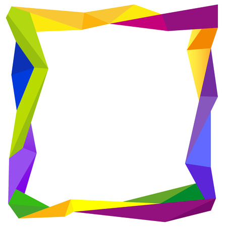 Colorful Frame Blank Background Design Concept Royalty Free Cliparts ...