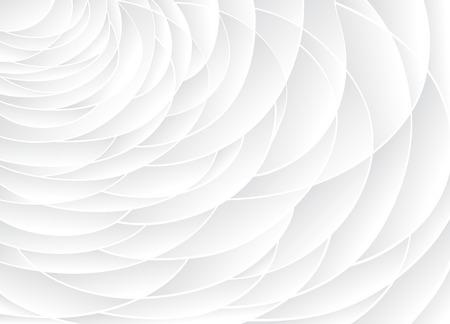 白のテクスチャです。波状の背景。内壁の装飾。3 D ベクトル内壁パネル パターン。抽象的な波の白い背景をベクトルします。