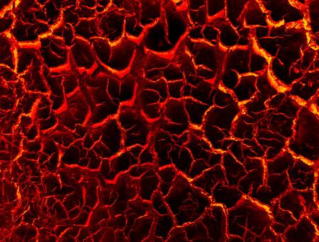 Lava crack ground mud textured background Stock Photo