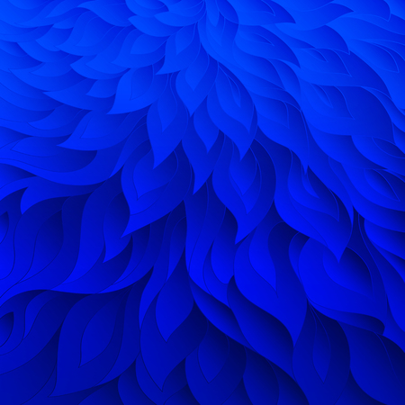 Blue floral pattern. Decorative background. Floral background.