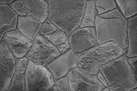 texture of an old light brick stone wall, background Stock Photo