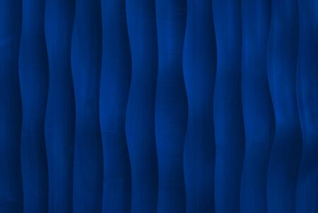 Blue wall texture, abstract pattern, wave wavy modern, geometric overlap layer background