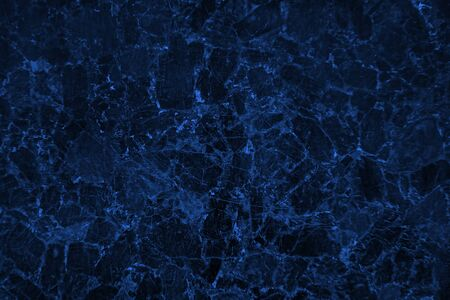 Blank blue stone texture abstract background with dark corners
