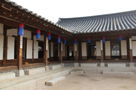 olden: Hanok village showcasing traditional houses from the olden days