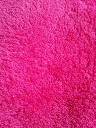 material: Soft fleece material in pink