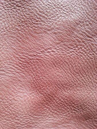 materiale: Leather texture rosa Archivio Fotografico