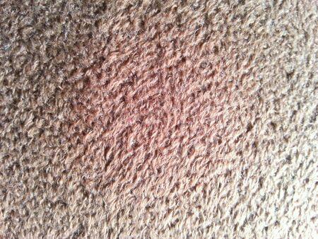 materiale: Materiale di pelliccia marrone