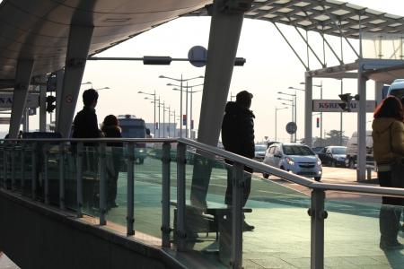 incheon: INCHEON, FEBRUARY 2012 - South Korean airport Editorial