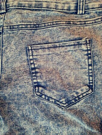 jeans fabric: Denim texture of a pair of jeans