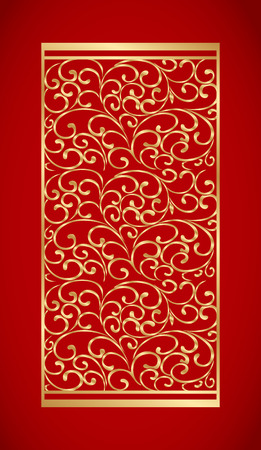 Chinese seamless pattern. Chinese traditional background.