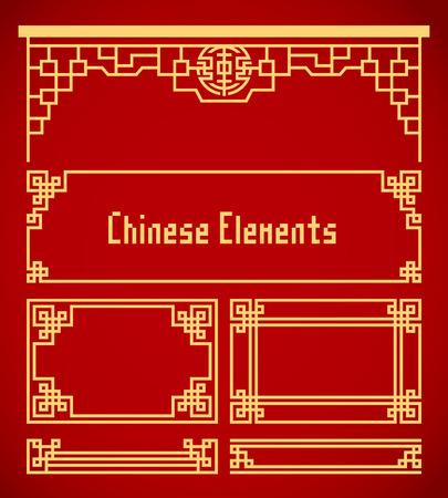 中国のビンテージ フレーム