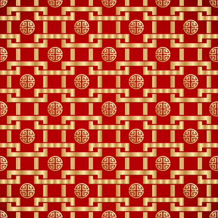 Seamless background in Chinese traditional design