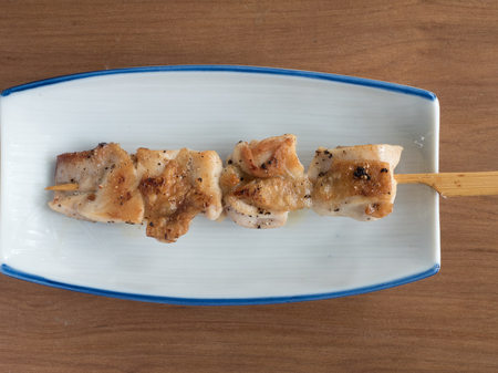 Yakitori: Japanese skewered chicken