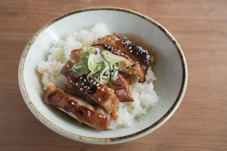 Grilled chicken Teriyaki rice bowl