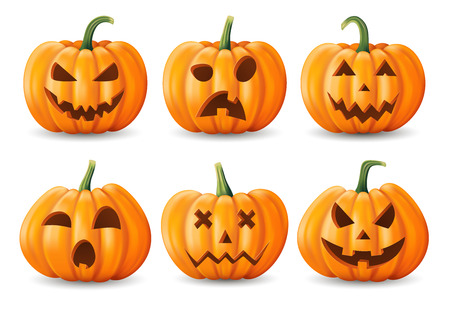 Halloween design for Greeting card