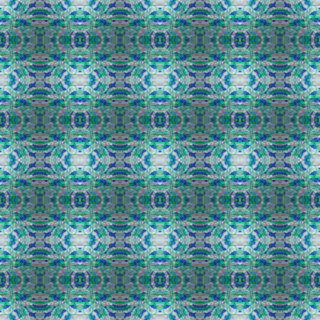 silvery: A tileable pattern of silvery green blue. Stock Photo