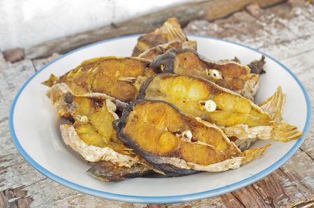 shark catfish: fried shark-catfish