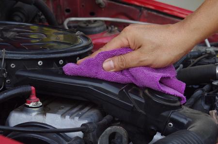 make dirty: to wipe engine room