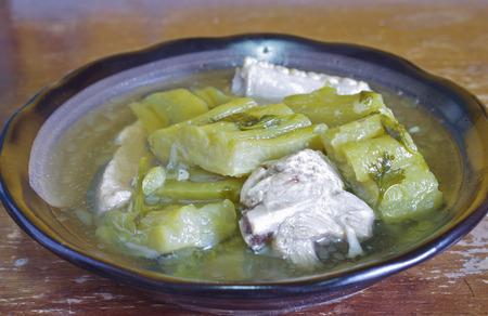 balsam: balsam pear steamed Stock Photo