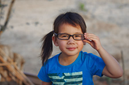 far sighted: eyeglasses for girls