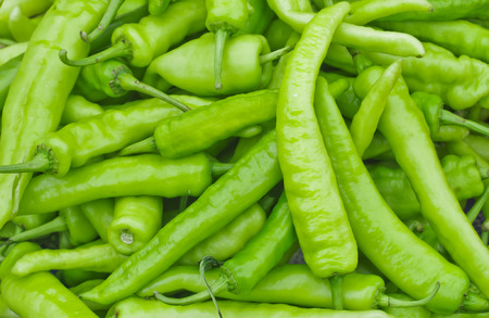 peppery: green pepper background Stock Photo