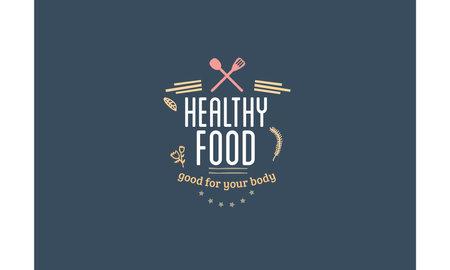 healthy food good for your body Ilustração