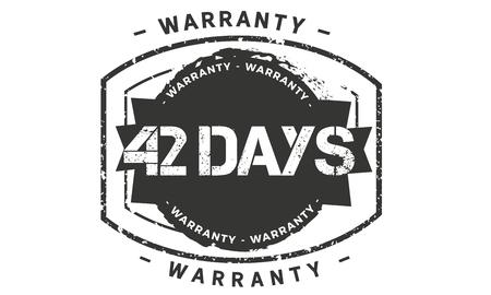 42 days warranty illustration