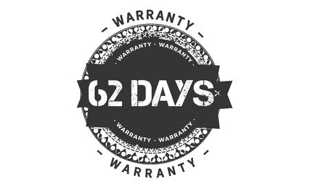 62 days warranty illustration