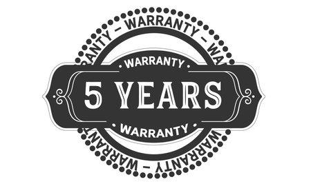 years warranty logo icon template design illustration