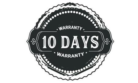 days warranty logo icon template design illustration