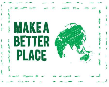 make better place Ilustração