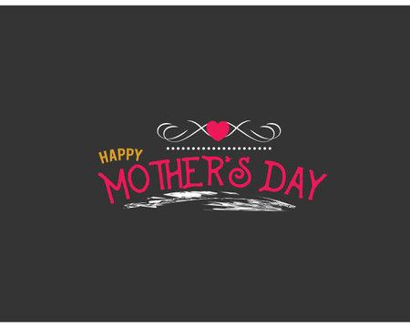 happy mother's day Ilustração